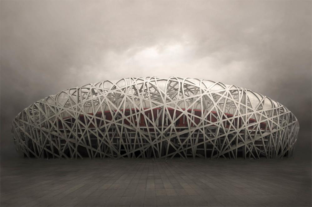 "China  Bird's Nest, 2012 - ed. of 8 - D-print  39.4"" x 59"" (100 x 150 cm)"