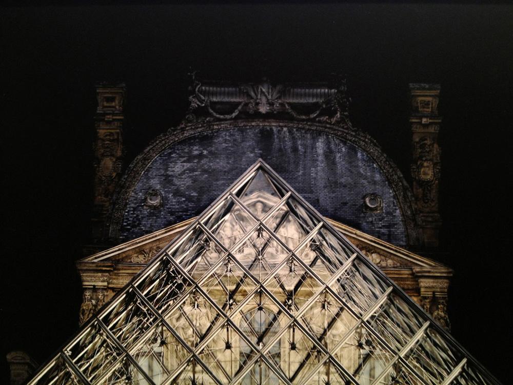 "France  Louvre, 2007 - D-print on rag paper  31.5"" x 39"" (80 x 100 cm)"