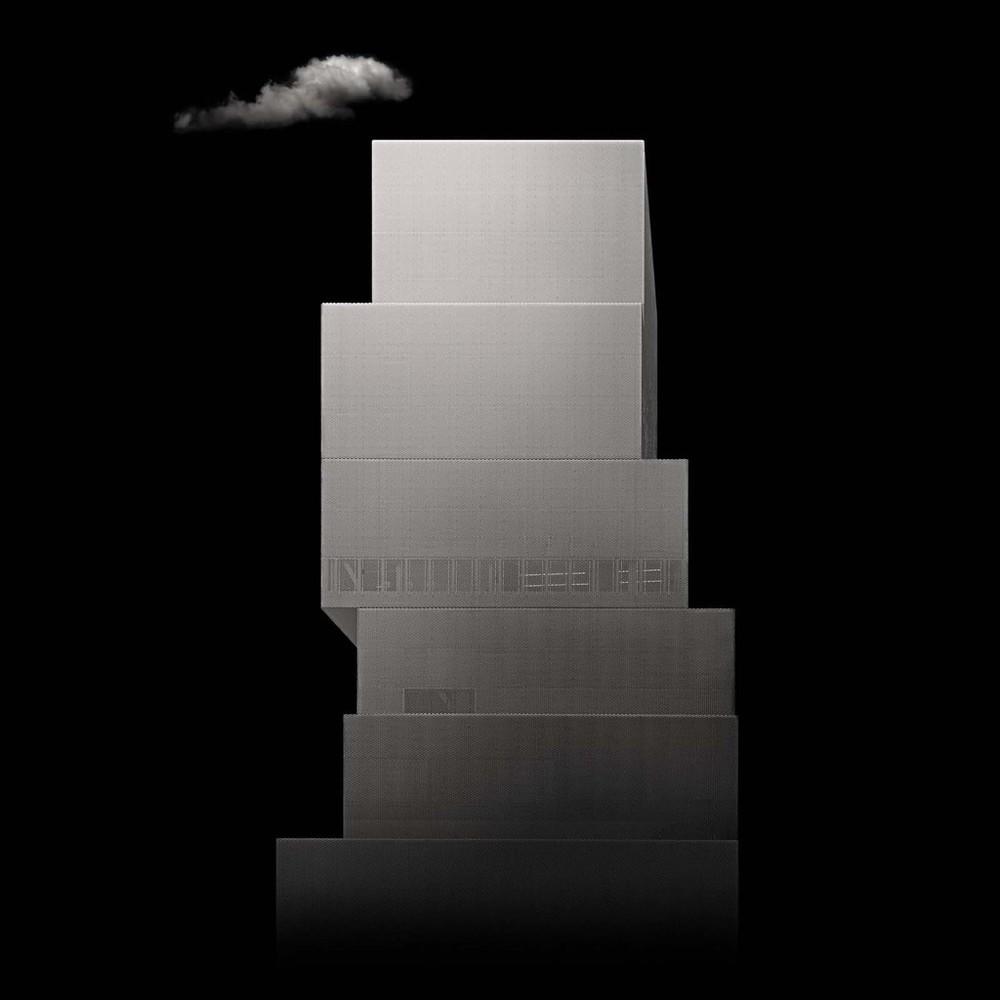 "New York NY New Museum 2, 2008 - D-print on rag paper 39.3"" x 39.3"" (100 x 100 cm)"