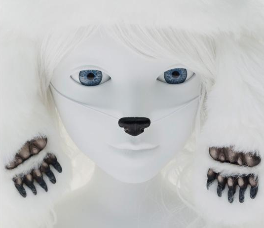 Koy - Goddess of the Winter, the insight and the Hugs, 2012  c-print - Ed; 1/7 | 40 x 44 in | 101.6 x111.76 cm