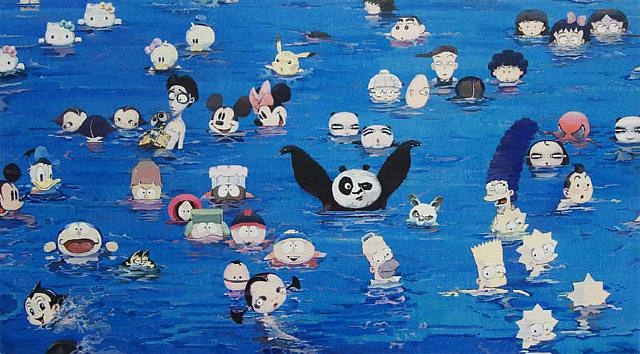 Cartoon Characters by Zhang Gong the-tree-mag 30.jpg