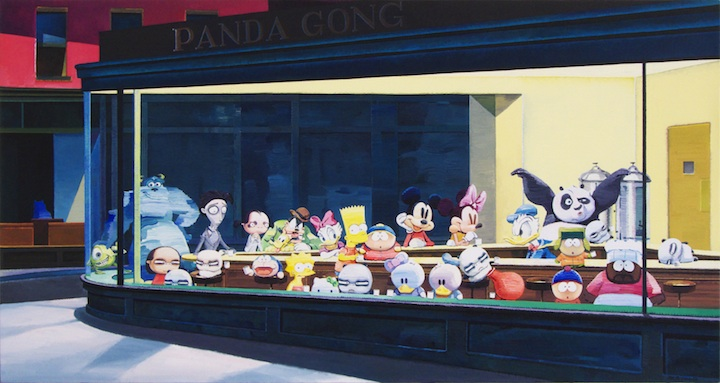 Cartoon Characters by Zhang Gong the-tree-mag 110.jpg