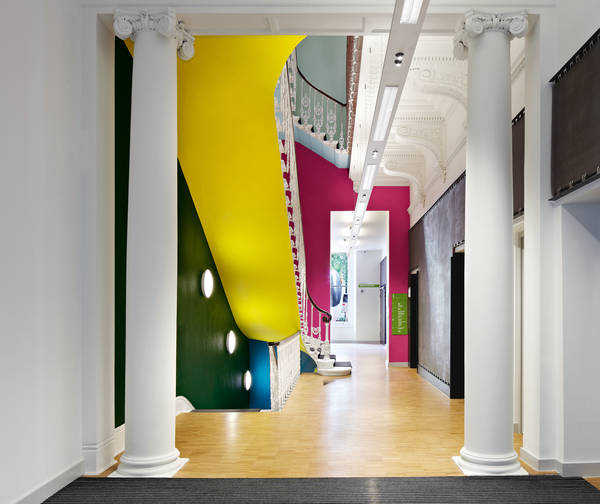 Temporary installation in the Goethe Institut London by zein the-tree-mag 10.jpg