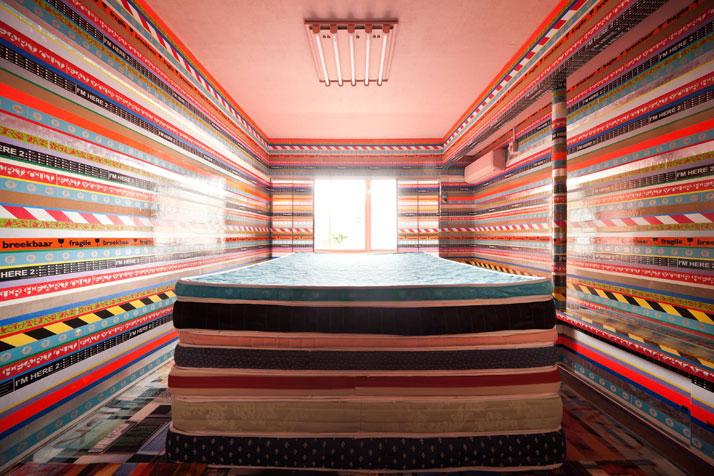 Room #307: Llayers Llove Hotel by Richard Hutten