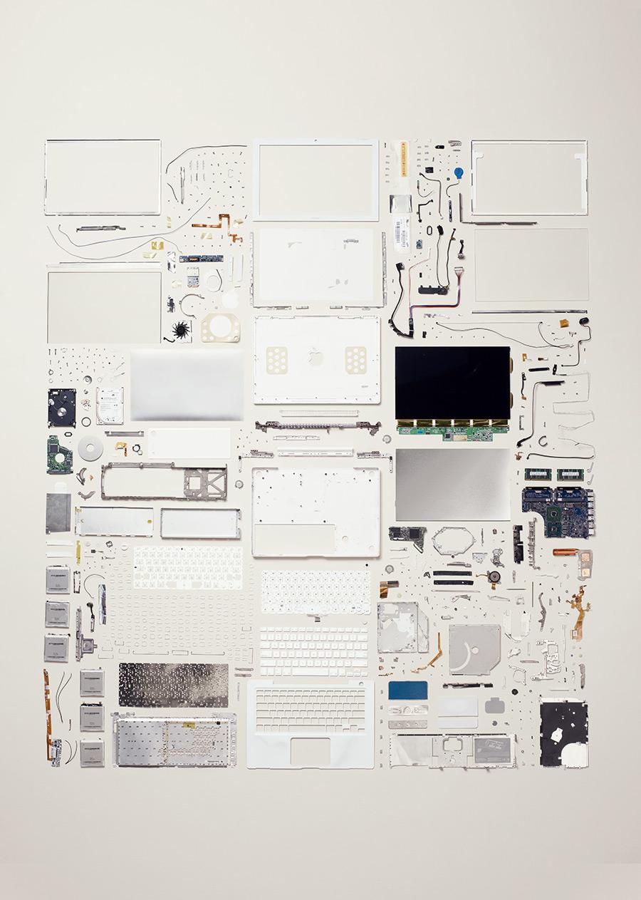 Laptop Computer, 2006; Apple; Component count: 639.