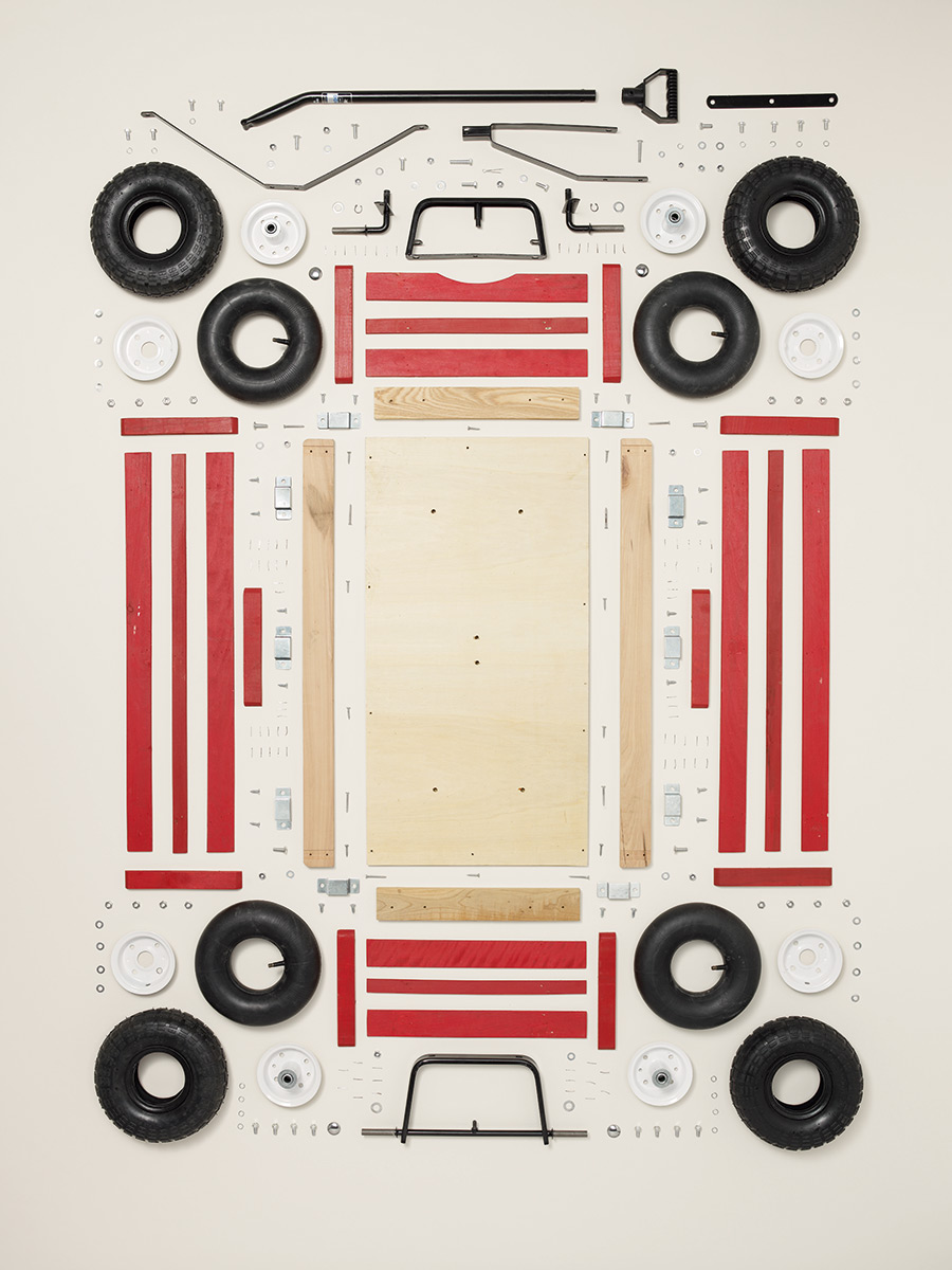 Children's Wagon, 2011; Schwinn; Component count: 296.