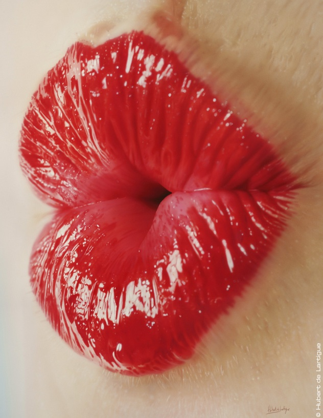 Kiss - © Hubert de Lartigue - Juin 2013 - Acrylique sur toile / 60 x 81 cm (acrylics on canvas / 23.62 x 31.49 inches)