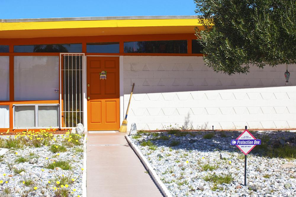 """Orange Door  20"""" x 30""""  (2011) Digital C-Print. Edition of 10."""