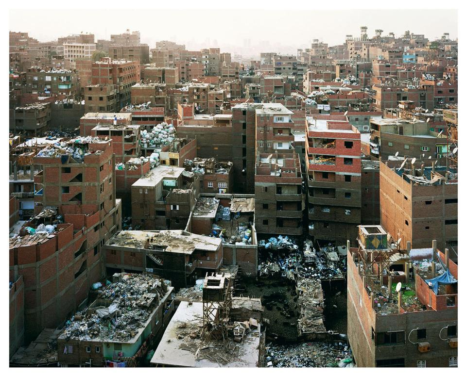 okkatam ridge (garbage recycling city) Cairo, 2009