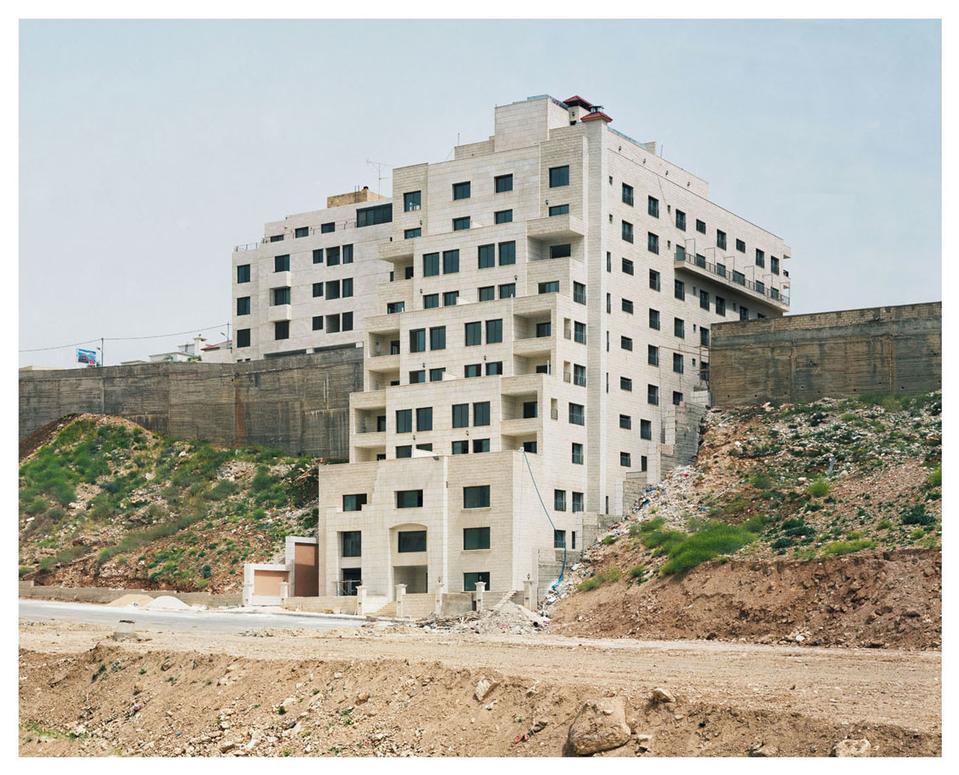 Sand ridge, Amman, 2009