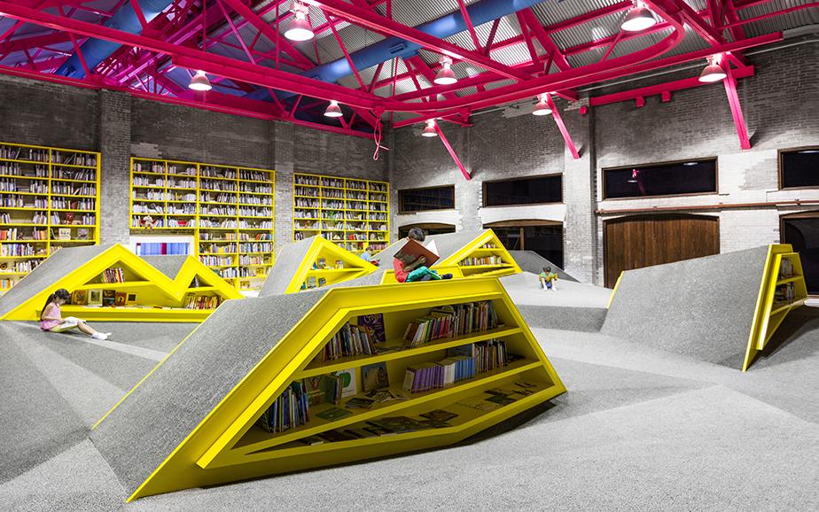Reading platform