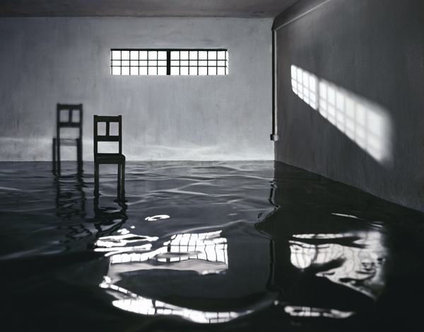 Interrogation Room , 2008, digital chromogenic print, 48 x 61.5 inches & 71 x 90.75 inches.