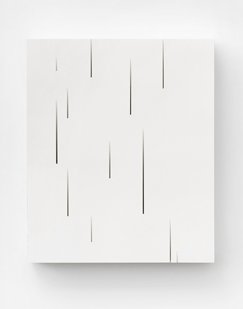 Form in white (Gradient), 2012  Paper  24 x 20 x 3 cm