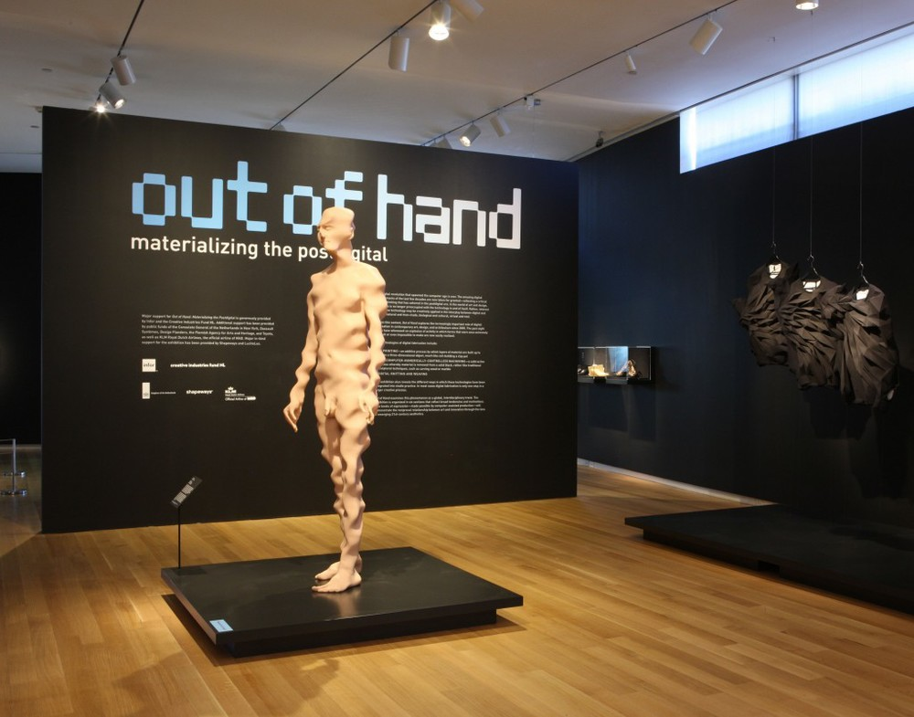 "Installation at MAD in ""Out of Hand (Materializing the Postdigital)"" 2013-2014"