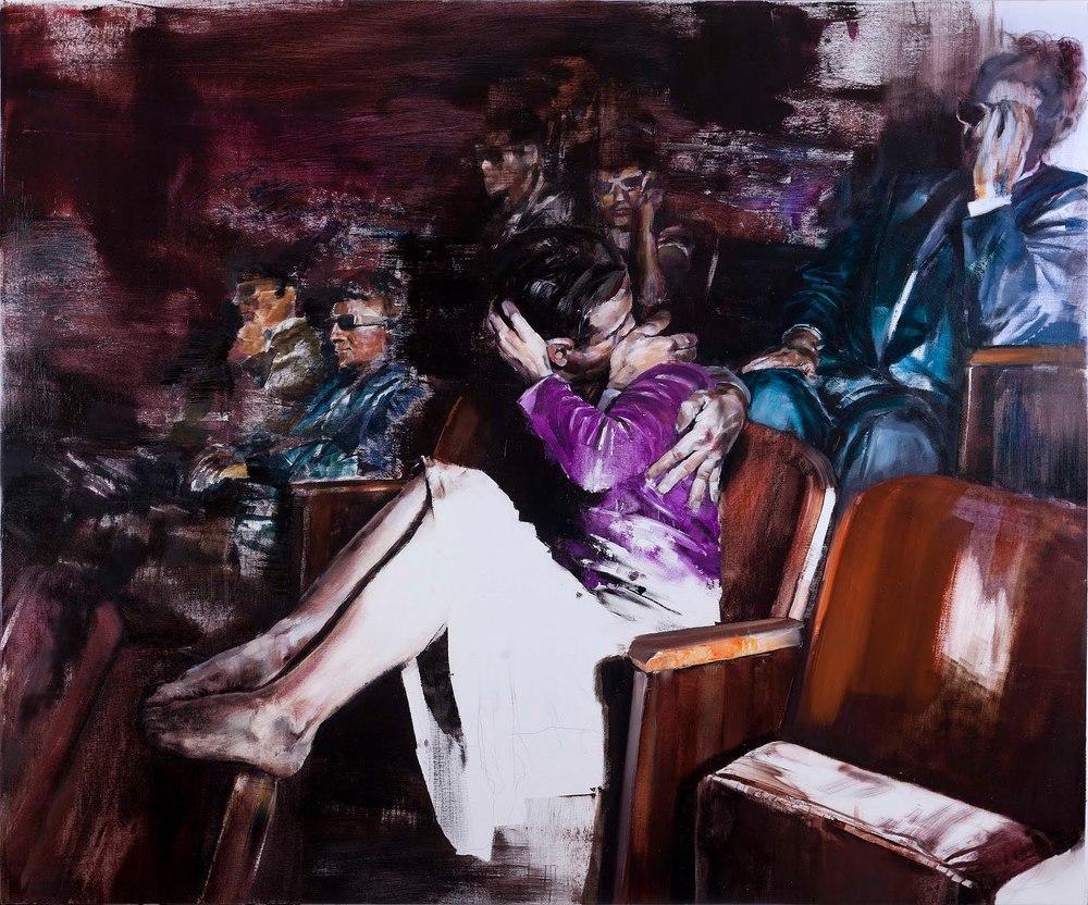 Blooper | oil on canvas | 100X120 cm | 2011