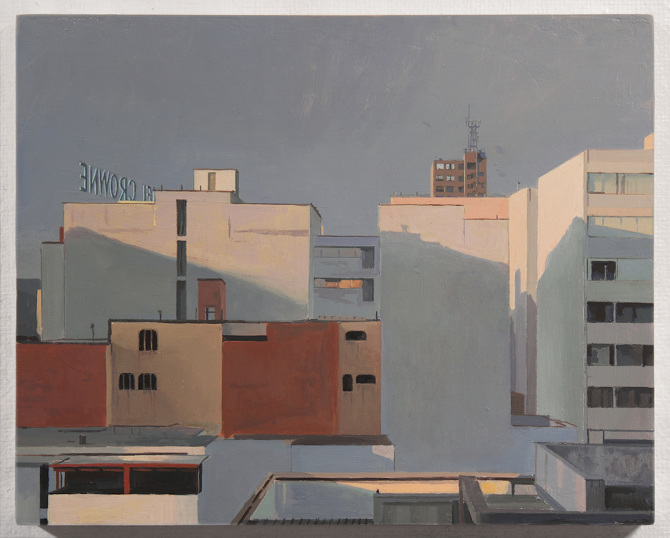 View from a Window- Afternoon. oil on panel. 10 x 8 in. 2013.jpg