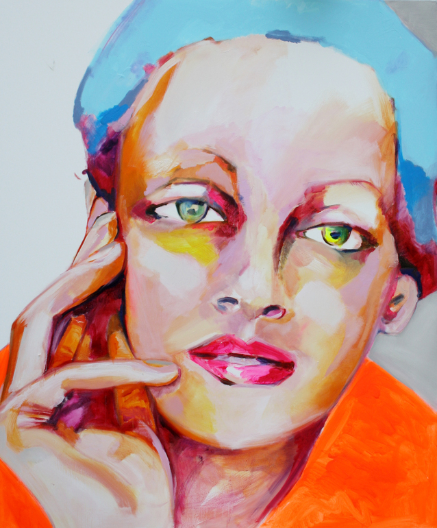 Thinking About You, 120 x 100 cm