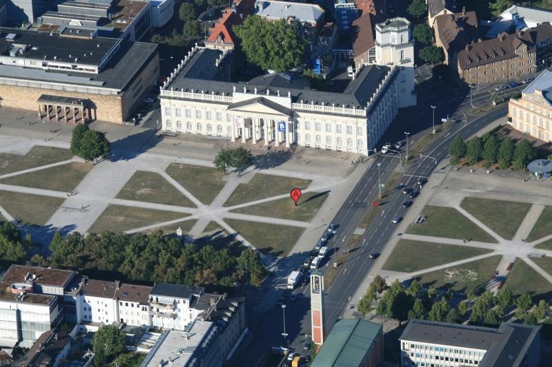 Map at 'Hello World!' Kasseler Kunstverein, Fridericianum 2013