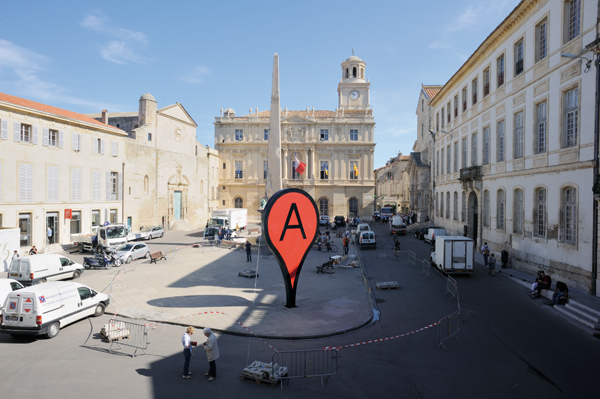 'Map' at Rencontre Arles 'From Here On' pics by Anne Foures, 2011