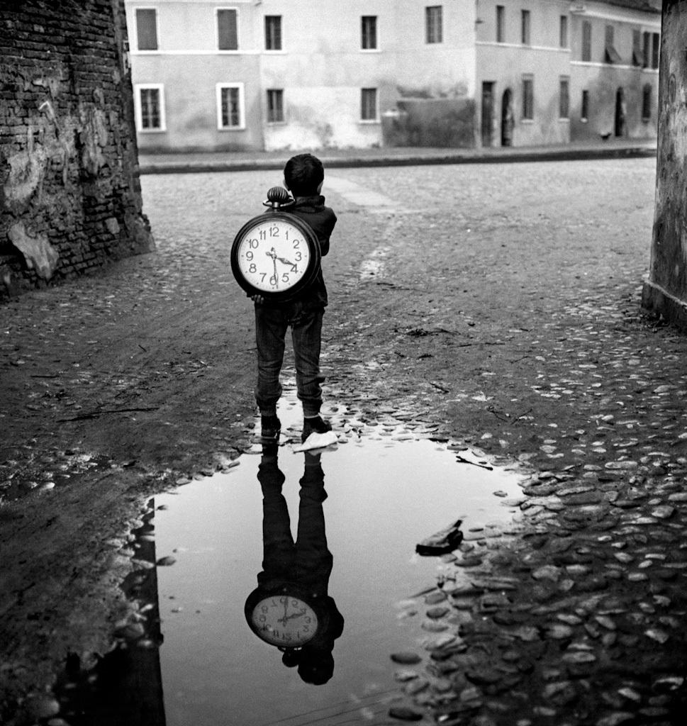 Ragazzo con l'orologio, 1955