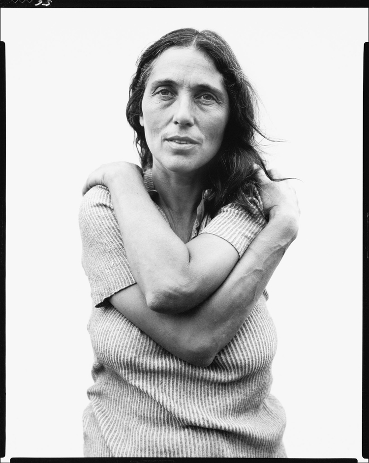 June Leaf, sculptor, Mabou Mines, Nova Scotia, July 17, 1975 103.60-42.cc1.jpg