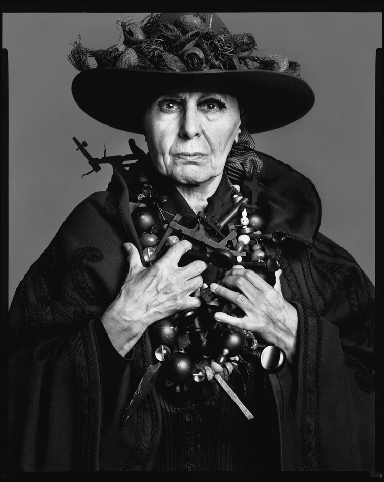 Louise Nevelson, sculptor, New York, May 13, 1975.cc1.jpg