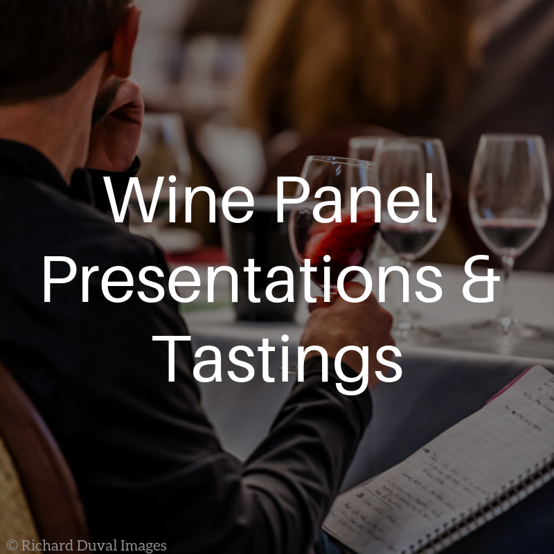 Wine Panel Presentations & Tastings