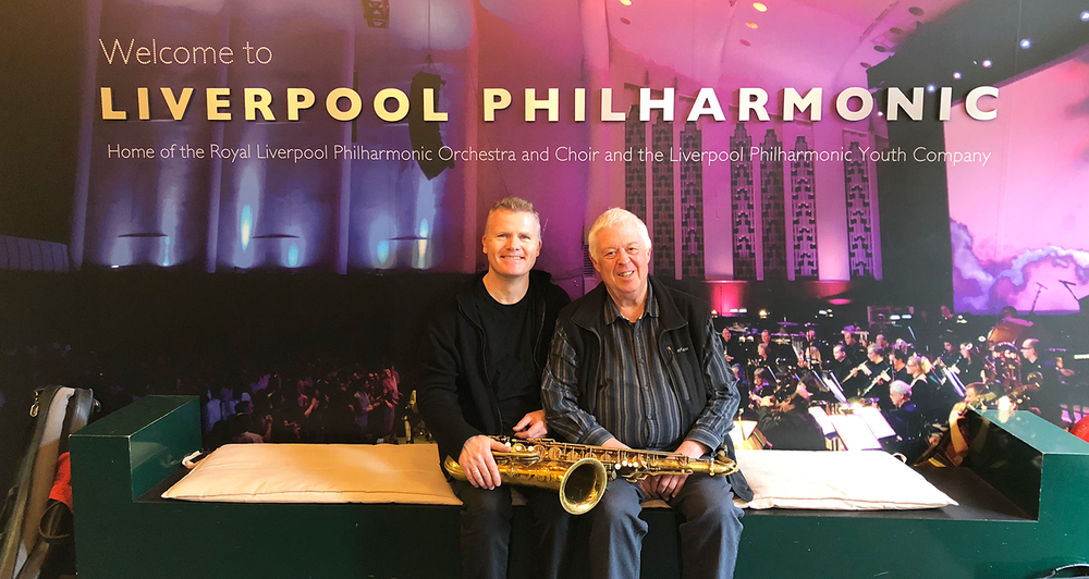 Iain performed  Gary Carpenter's concerto 'Set'  for Saxophone and Orchestra with RLPO.  Listen again on iPlayer to   Live Radio 3 broadcast     - Thursday 3rd May @ 7.30pm