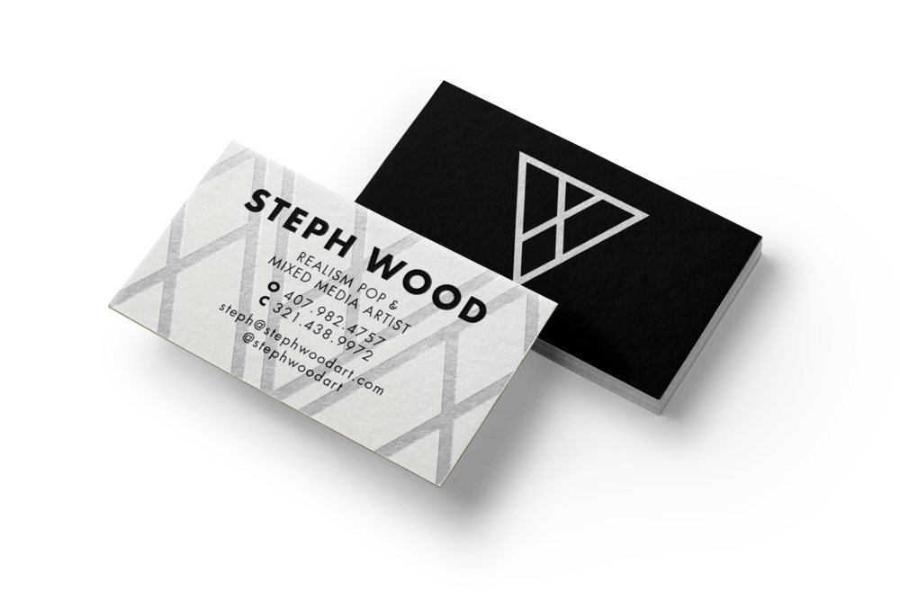 Steph Wood Business Cards