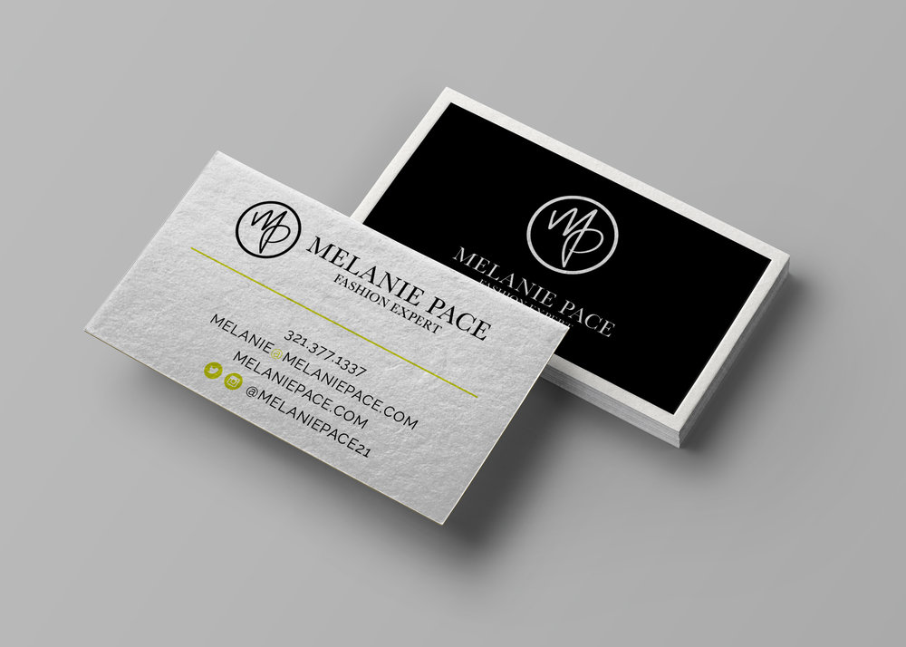Melanie Pace Business Card