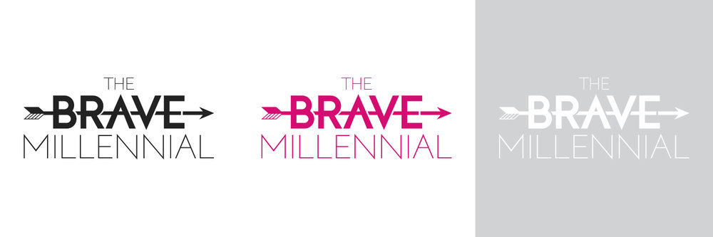 The Brave Millennial Logo
