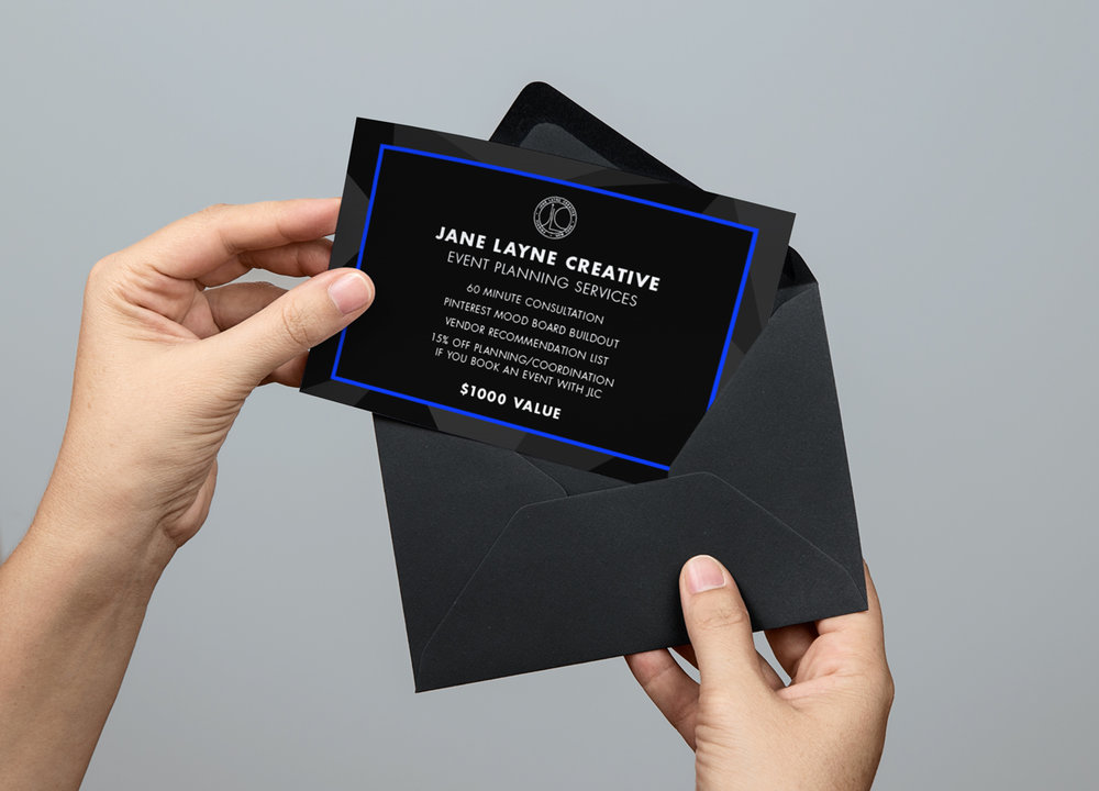 Jane Layne Creative Charity Gift Certificate