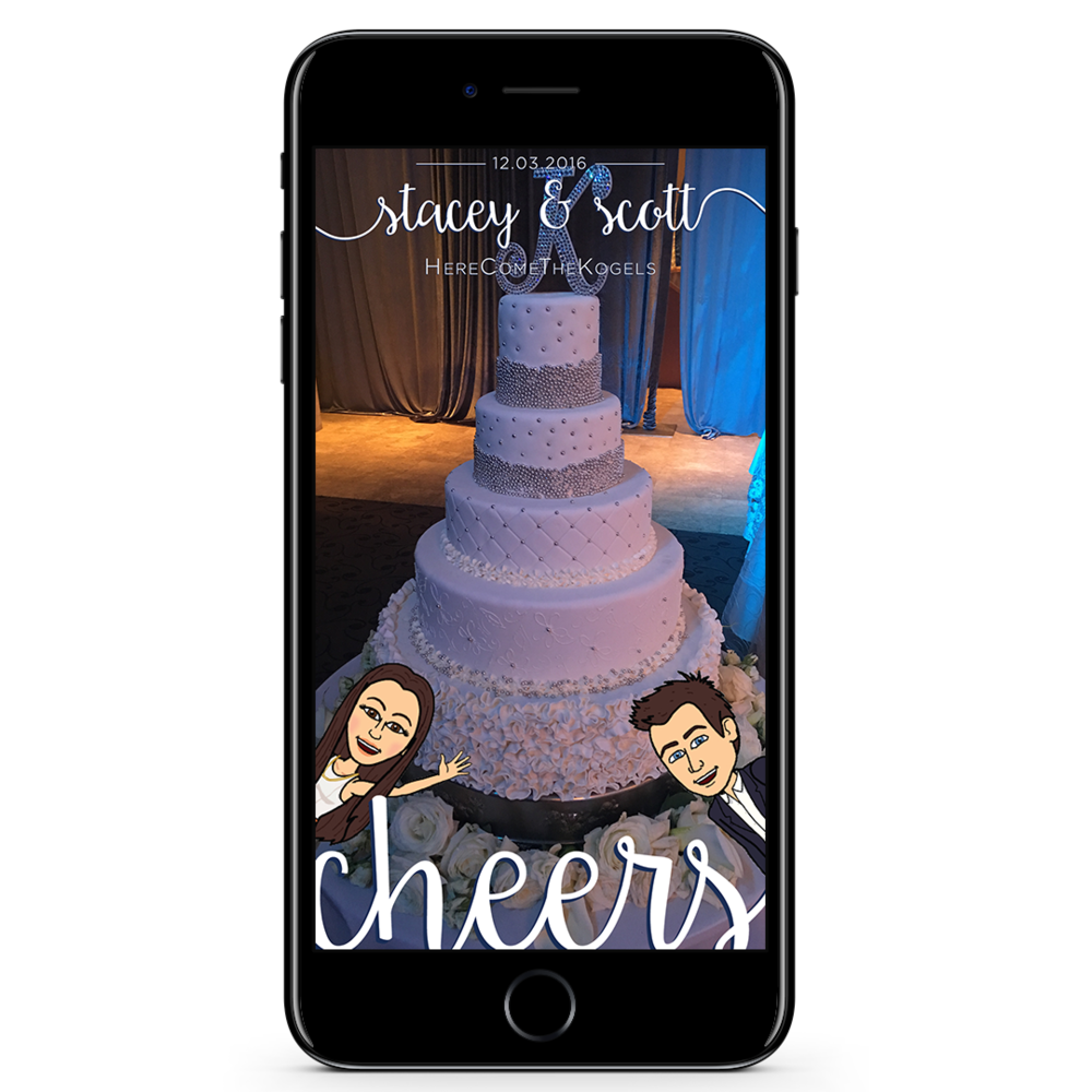 Wedding Geofilter Design
