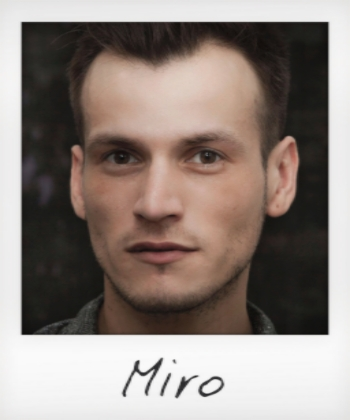 An amazing talet, Miro brings with him over 10 years of senior experience and has already garnered a devout following thanks to his impeccably voluminous blow dries and striking, yet graceful highlights.