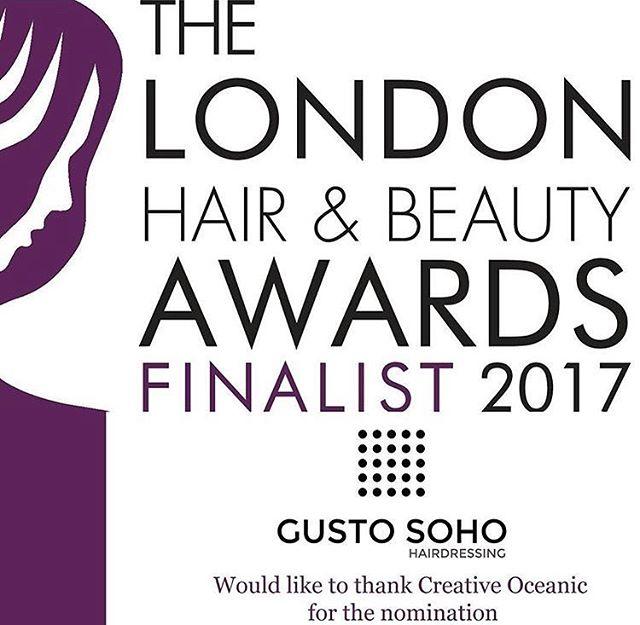 Can't hardly wait 😍 #londonhair #soho #hairandbeautyawards #gustohairdressing#soholook #lovelondon #salon #londonhair#hair #creativeoceanic #yay #hairsunday