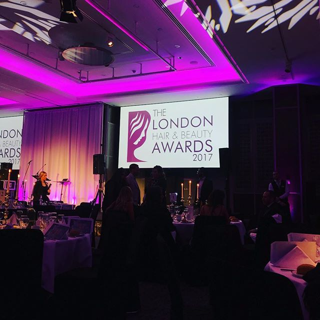 Here we are! #Awards #Gusto #HairSalon #hairdressing #Best #London #Team #LIKE #Follow