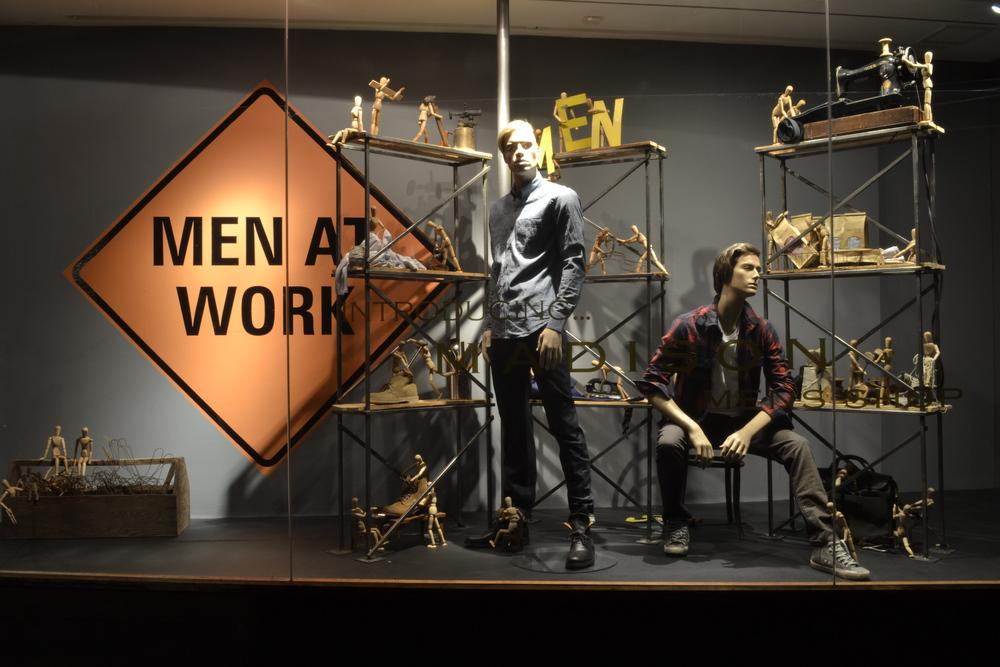 Men at Work - Madison Mens Shop - August 2013