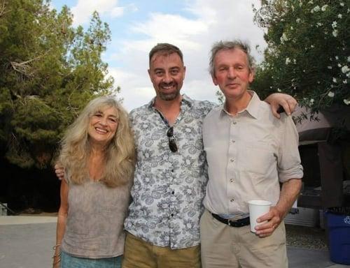 With Jill Purce & Rupert Sheldrake (2014)