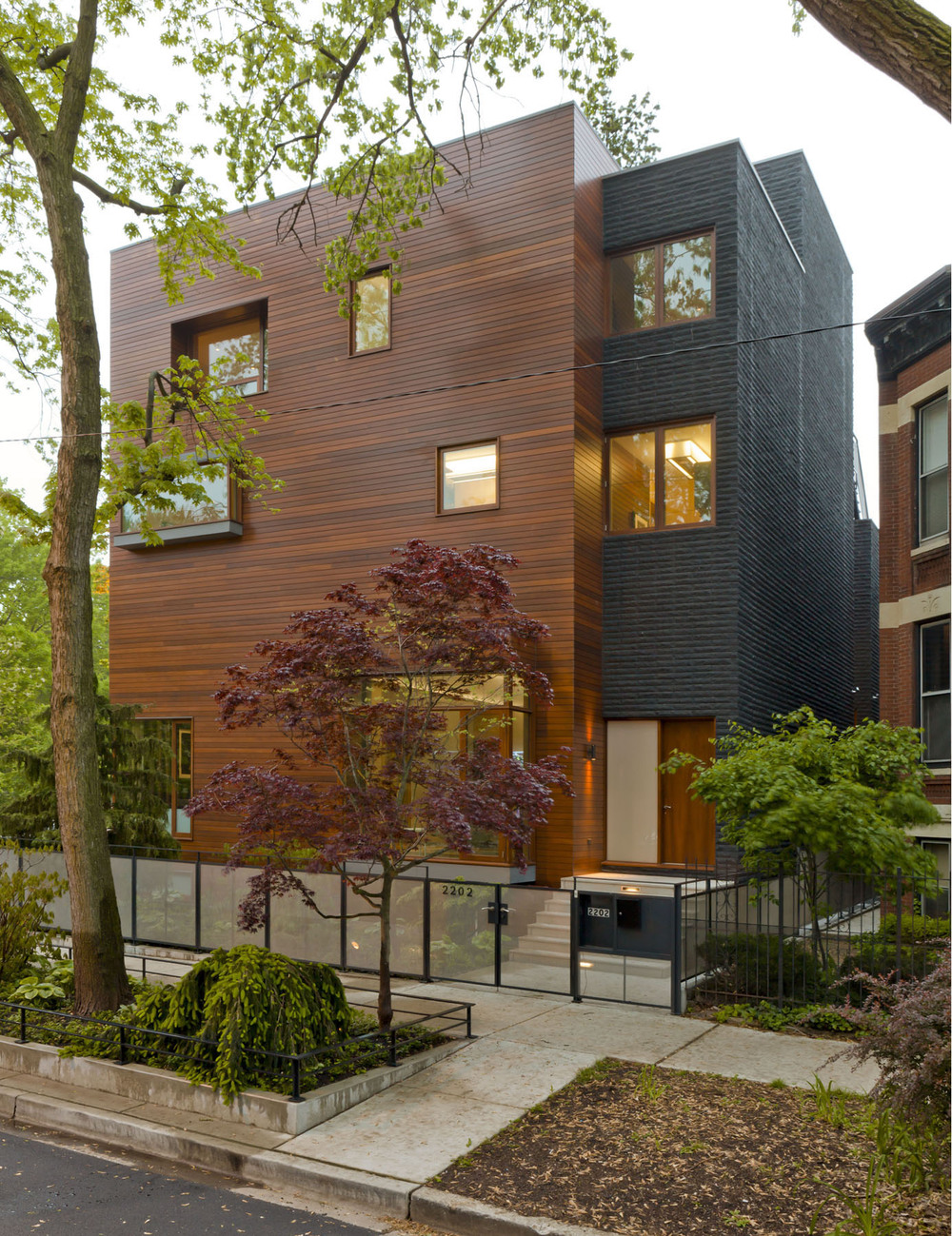 Chicago residence dirk denison architects - Residence carmel par dirk denison architects ...