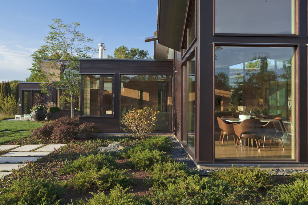 Illinois residence gallery dirk denison architects - Residence carmel par dirk denison architects ...