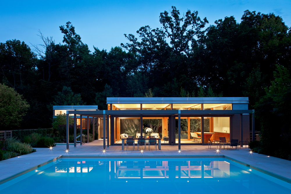 Midwest Residence Poolhouse