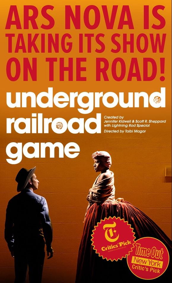 Caitlin will be traveling to Germany with Ars Nova and Underground Railroad Game as the Associate Director to launch the international tour at Theater der Welt in Hamburg, June 2017.