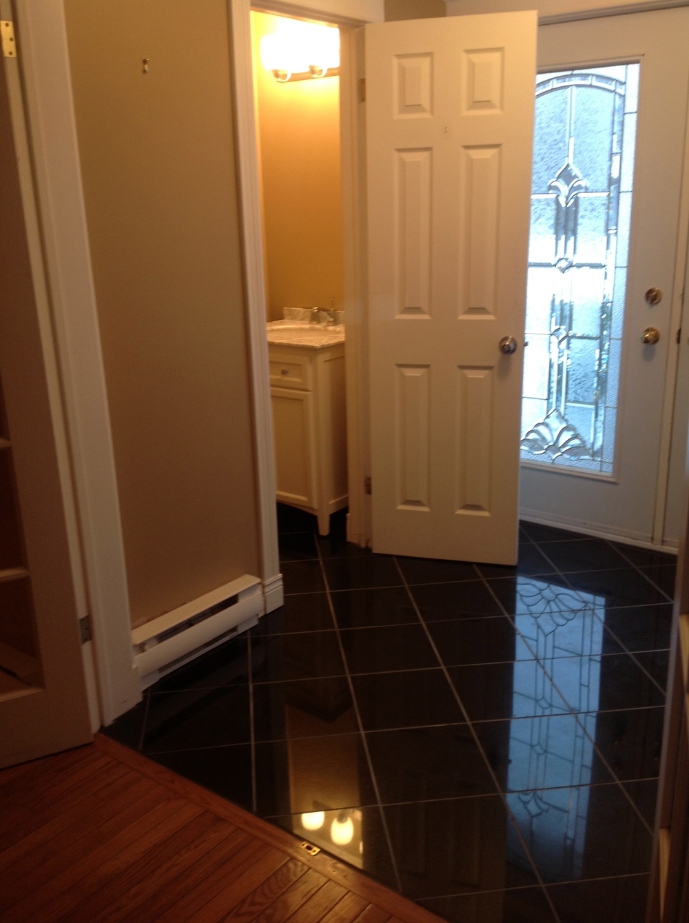Foyer and half bath