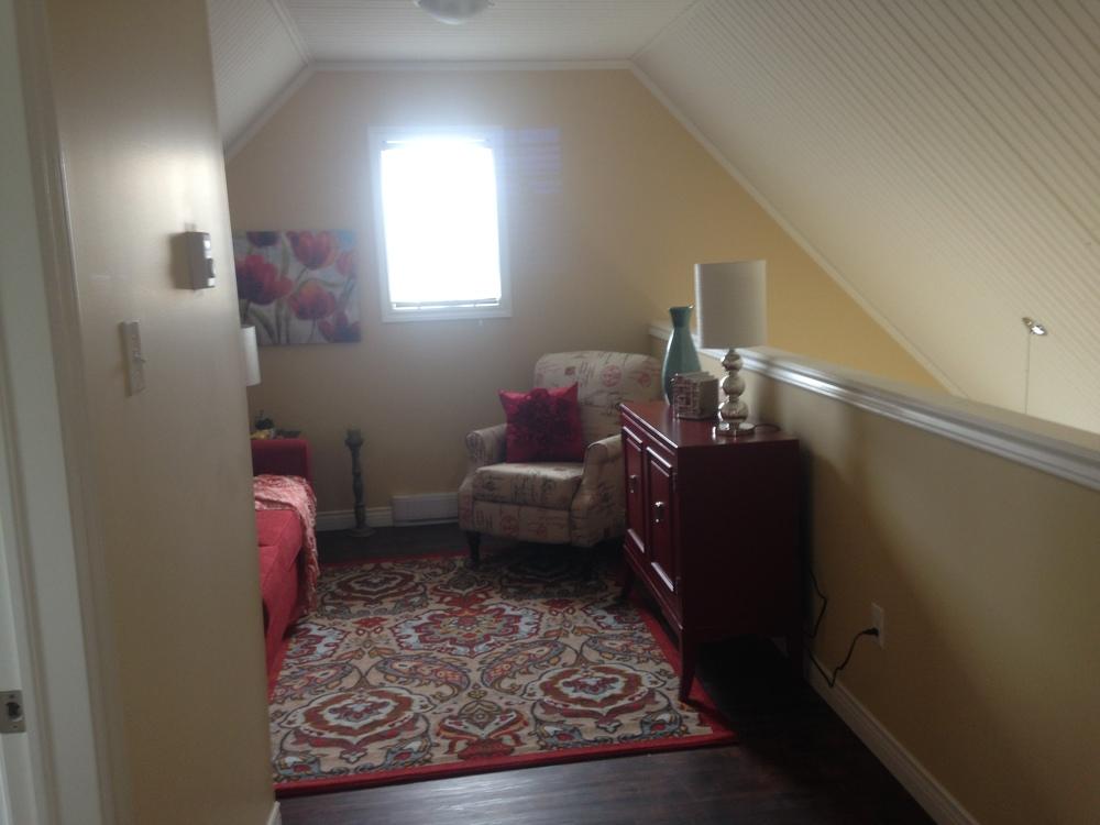 Loft area - furnished