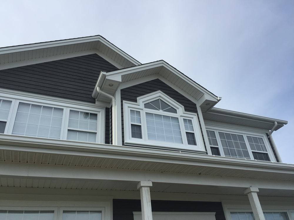 Beautiful Cape Cod siding and trims make the home feel quiet and solid.