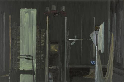 Walker Curtain I 2011 oil on panel 15 x 22.5-.jpg