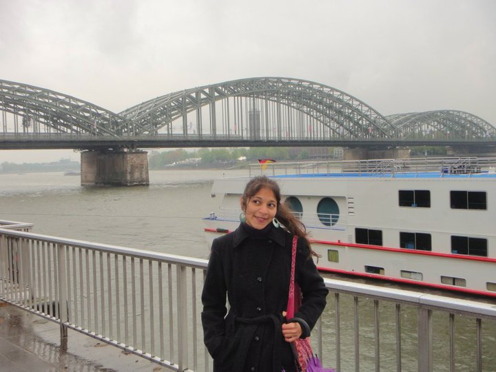 The romantic river Rhine