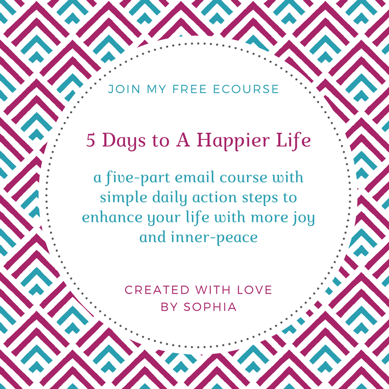 Free ecourse_ 5 Days to a Happier life