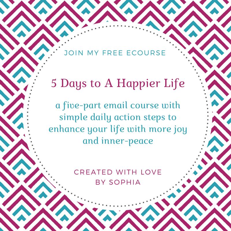 Free ecourse_ 5 Days to a Happier life