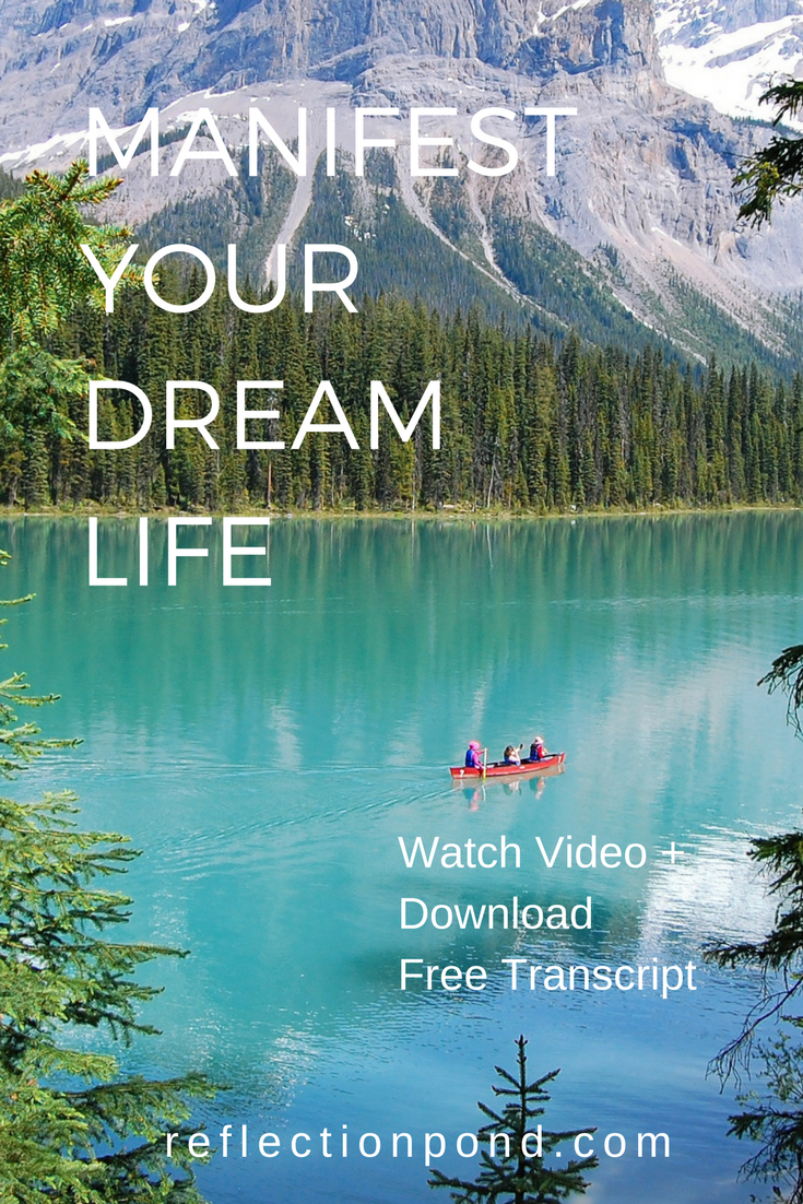 Manifest your dream life with this visualization meditation